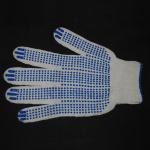 Перчатки рабочие белые 4 нити (точка)