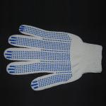 Перчатки рабочие белые 5 нитей (точка)
