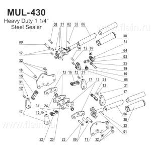 MUL-430 схема запчастей
